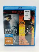 Jeepers Creepers 1 & 2 Blu-Ray Double Feature! Brand New!!
