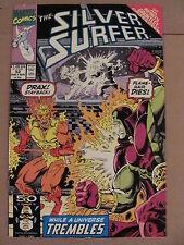 Silver Surfer #52 Marvel 1987 Series Infinity Gauntlet Crossover Drax app