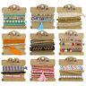 Girls Womens Stacker Bracelet Festival Anklet Multi Row Layer Stack Jewellery
