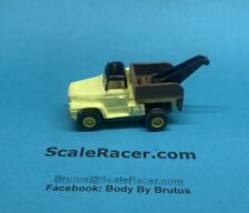 Yellow Tow Truck #1364 Custom Built Body for Aurora Tjet Chassis
