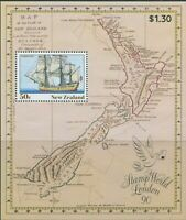 New Zealand 1990 SG1542a Ship MS MNH