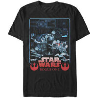 STAR WARS T-Shirt Rogue One Men's OFFICIALLY LICENSED Movie Poster Logo S-5XL