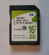 NEW 2012 2013 Hyundai Santa Fe Navigation SD Card Map 96554-4Z101 OEM GPS CHIP