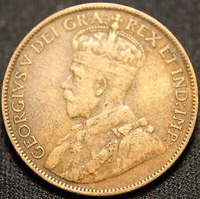 #1274# 1912 CANADIAN COINS LARGE CENT KING George V