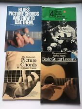 Lot Of 4 Vintage Happy Traum Guitar Lesson Books