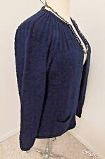 Cardigan Sweater Navy Appleseed's Sz 1X    503