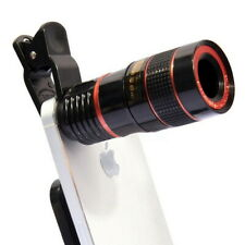 12x Optical Zoom Clip on Camera Lens Telescope For Universal Cell Phone Selfie