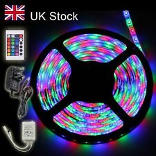 10M 5M Waterproof 300 LED 3528 RGB SMD Strip Light Remote Controller Adapter 12V
