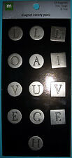 NEW 13 pc LIVE LAUGH LOVE  Metal Pewter MAKING MEMORIES Magnet Variety Pack