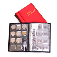 120 Compartments Coins Storage Book Collection Stock Coin Protector Album Hol_ne