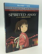 Spirited Away (Blu-ray+DVD, 2017; 2-Disc Set) NEW w/ Slipcover, Studio Ghibli