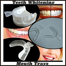 4 x Teeth Whitening Mouth Trays Whitening Bleaching Gum Shield Grinding WTLtd®