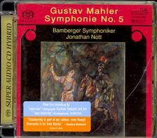MAHLER - Symphony 5 - Jonathan NOTT - Super Audio Hybrid Gold Disc