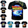 Movie Back to the Future Women Men T-Shirt 3D Print Short Sleeve Tee Tops