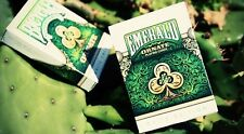 Emerald ORNATE playing cards Brand New Deck