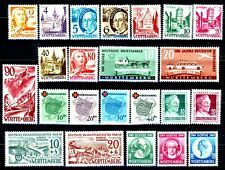 Germany Wurttemberg 1948 -1949 Complete MH Set 8N28 to 8N41 & 8NB1 to 8NB11
