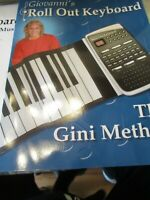 Giovanni's Roll Out Piano Keyboard  20302 Factory Sealed New Mint Condition