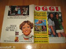 OGGI 1976/26=ADRIANO PANATTA=CLAUDIA MORI=PROTIMA BEDI PARVEEN BADI=PAUL GETTY=