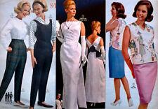 60s Vintage Fashion & Furnishings_1964 WARDS CATALOG_Mid Century_FREE Shipping