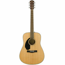 Fender Cd-60s Left Handed Acoustic Guitar Walnut Fingerboard Natural