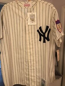 Mickey Mantle  #7 Mitchell & Ness 1951 Cooperstown Collection Jersey L