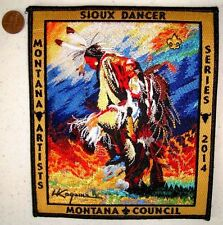 APOXKY AIO OA 300 MT MONTANA HARRY KOYAMA SIOUX DANCER JACKET PATCH 154 MADE!!
