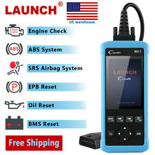 Launch OBD2 Car ABS SRS EPB BMS Oil Reset Scanner Diagnostic Tool CReader 8011