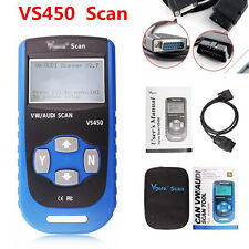 VS450 Code Reader Scanner Reset Airbag VAG OBD2 Diagnostic SCAN Tool for VW Audi
