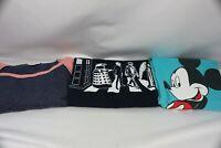 Lot of 3 Women's Clothing Items, Doctor Who Disney Mickey, LuLaRoe Dress Size M