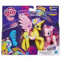 My Little Pony Princess Gold Lily Pinkie Pie Figures Rainbow Girls Fun Gift Toy
