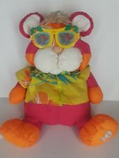Vintage The Wild Puffalumps Tiger Hawaiian Shirt Sunglasses Fisher Price 1987