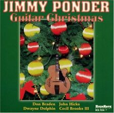 Jimmy Ponder - A Guitar Christmas CD High Note Records NEW