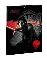 Star Wars VIII Cartellina Portadocumenti per Documenti in GOMMA