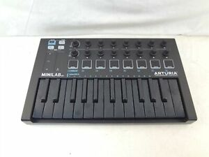 Arturia Minilab MK II Deep Black USB Midi Keyboard Controller