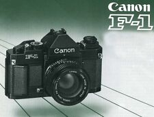 Canon F 1 New Manuale Italiano in pdf su cd