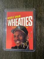 1994/95 Michael Jordan Whole-Grain Wheaties Sports Star USA Card Mint Bulls