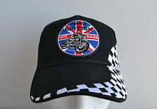 Baseball Cap,Mütze,Racing,Cafe racer,British,Vintage,BSA,Norton,Triumph,Black