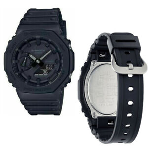 "G Shock GA-2100-1A1ER ""Casioak"" Triple Black Watch 100% Authentic !!!!"