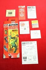 Action Man 40th Box, Paperwork & Manual, Soldier With Gripping Hands