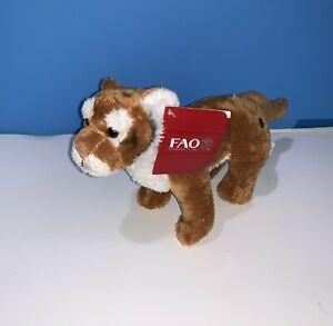 Toys r Us Geoffrey FAO Schwarz Bengal TIGER CUB Stuffed Animal Plush w/ Tag