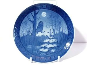 1974 Royal Copenhagen Christmas Plate Winter Twilight