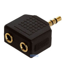 3.5 mm Stereo Cuffie Jack Y Splitter Adattatore Connect 2 Auricolari Per 1 dispositivo