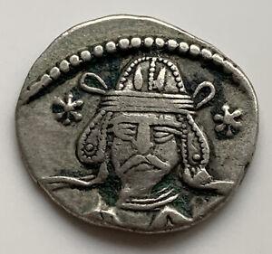 55-58 AD Parthian Empire Ancient Silver Drachm 3.7 gm Vardanes II RARE