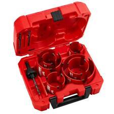 Hole Saw Kit Milwaukee Big Hawg Dozer Set Carbide General Electrician Plumbers