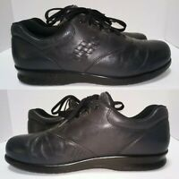 SAS Free Time Women's Black Leather Lace Up Oxford Shoes Size 10.5 S