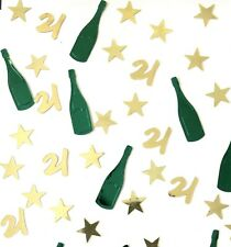 21st Birthday Table Scatter | 21st Party Table Confetti Decor - UK SELLER