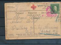 555277 / Österreich Postkarte Rotes Kreuz Zensur Wien