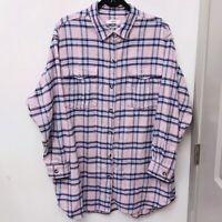 ISABEL MARANT ÉTOILE Oversized Plaid Shirt Jacket Shacket 44 L FARFETCH $600