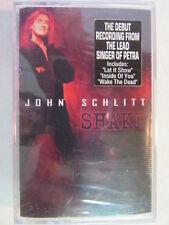 JOHN SCHLITT SHAKE FACTORY SEALED CASSETTE TAPE PETRA SINGER CHRISTIAN ROCK OOP
