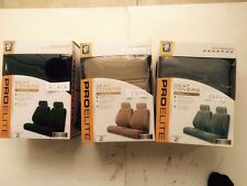 AE PRO ELIT  SEAT COVERS 700 SERIES  AIR BAG SAFE Gray/ Tan color